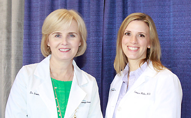 Dr. Marcia B. Gremillion and Dr. Laura S. Miller